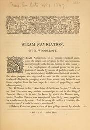 Steam navigation
