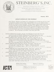 Steinberg's Fixed Price List: 2012