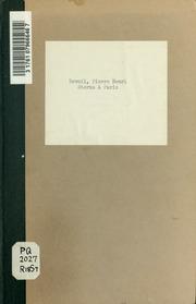 Sterne à Paris; ou, Le voyageur sentimental, comédie en un acte et en prose, melée de vaudevilles. Par les citoyens Revoil et Auguste Forbin
