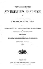 Österreichisches statistisches Handbuch