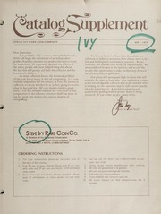 Steve Ivy Rare Coin Co. Catalog Supplement: 1975