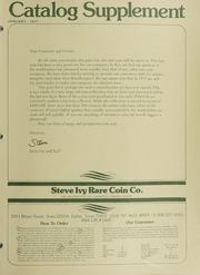 Steve Ivy Rare Coin Co. Catalog Supplement: 1977
