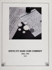 Steve Ivy Rare Coin Co. Fixed Price Lists: 1979