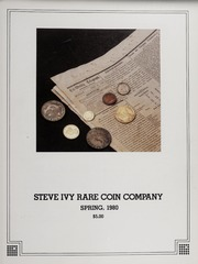 Steve Ivy Rare Coin Co. Fixed Price Lists: 1980