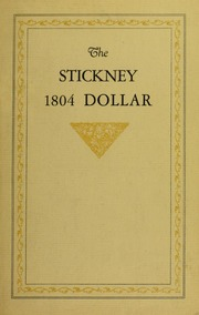 The Stickney 1804 Dollar