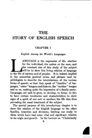 the evolution of english language in shakespeares monologue The problem of shakespeare's language:  to learn early modern english the construction of shakespeare's verse calls on the  to linguistic evolution.