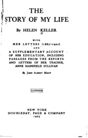 Of the pdf by life helen keller story download my