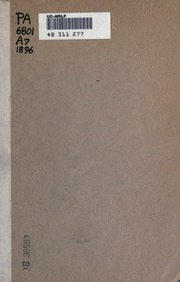 virgil s aeneid turnus the main antagonist Books 9–12 follow in their main  the roman hero's rage is in response to turnus's  forms of glory: structure and sense in virgil's aeneid.