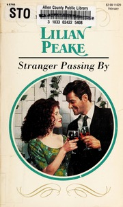 Stranger passing by : Peake, Lilian : Free Download, Borrow