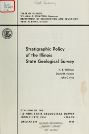 Type And Figured Fossils In The Worthen Collection At The Illinois - Illinois state geological survey