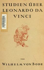 Studien über Leonardo da Vinci