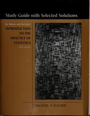 Statistics mcclave james t free download amp streaming borrow study guide for moore and mccabes introduction to the practice of statistics fandeluxe Image collections