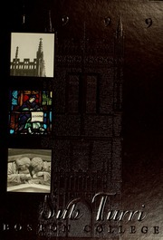 Sub Turri Under The Tower The Yearbook Of Boston College Boston College Free Download Borrow And Streaming Internet Archive