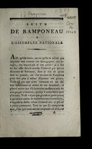 Suite de Ramponeau à l-Assemblée nationale.