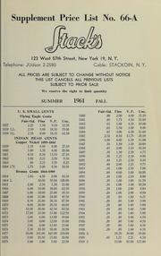 Supplement Price List No. 66-A