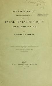 Sur l-introduction d-espèces méridionales dans la faune malacologique des encirons de Paris