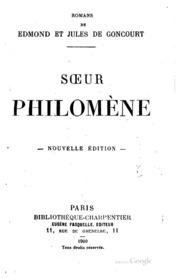 Sœur Philomène;