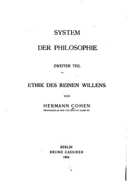 Vol 2: System der Philosophie