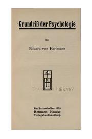 Eduard von Hartmann-s System der Philosophie im grundriss ..
