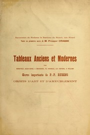 Tableaux anciens et modernes par Mierevelt, Jules Dupré, Meissonier, Th. Rousseau, Alf. Stevens, F. Willems, etc