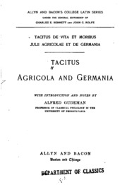 tacitus agricola and germania pdf
