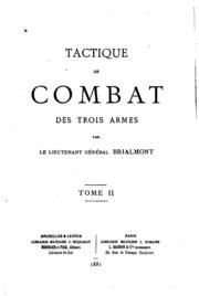 Vol 2: Tactique de combat des trois armes