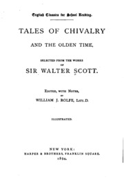 walter scott essay on chivalry Essays on chivalry, romance, and the drama by walter scott at onreadcom - the best online ebook storage download and read online for free essays on chivalry.