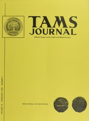 TAMS Journal, Vol. 10, No. 1