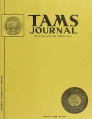 TAMS Journal, Vol. 10, No. 5