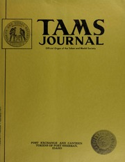 TAMS Journal, Vol. 11, No. 1