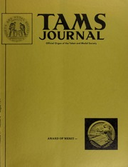 TAMS Journal, Vol. 11, No. 4 Part I