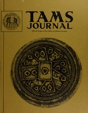 TAMS Journal, Vol. 12, No. 6 Part II