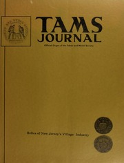 TAMS Journal, Vol. 12, No. 1
