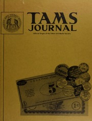 TAMS Journal, Vol. 12, No. 6