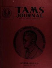 TAMS Journal, Vol. 13, No. 4 Part II