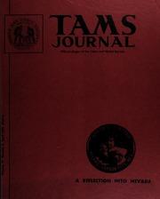 TAMS Journal, Vol. 13, No. 2 Part I