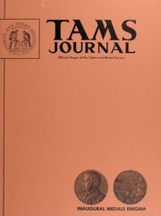 TAMS Journal, Vol. 14, No. 1