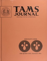 TAMS Journal, Vol. 14, No. 3 Part I