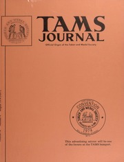 TAMS Journal, Vol. 14, No. 4 Part I