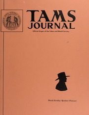 TAMS Journal, Vol. 14, No. 5