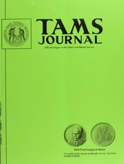 TAMS Journal, Vol. 15, No. 1