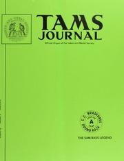 TAMS Journal, Vol. 15, No. 3