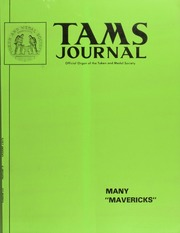 TAMS Journal, Vol. 15, No. 5