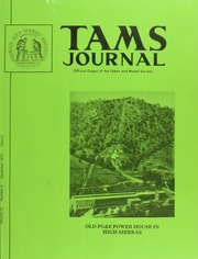 TAMS Journal, Vol. 15, No. 6