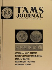 TAMS Journal, Vol. 16, No. 5