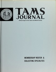 TAMS Journal, Vol. 17, No. 4 Part II (pg. 20)
