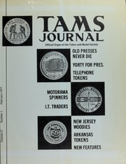 TAMS Journal, Vol. 17, No. 1