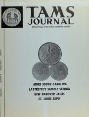 TAMS Journal, Vol. 17, No. 4 Part I