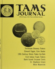 TAMS Journal, Vol. 19, No. 2