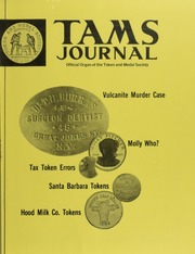TAMS Journal, Vol. 19, No. 4